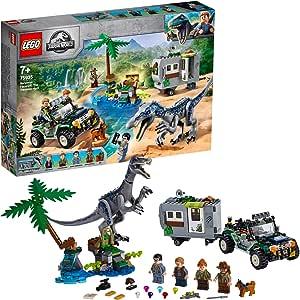 LEGO Jurassic World Baryonyx Face-Off: The Treasure Hunt 75935 Building Kit
