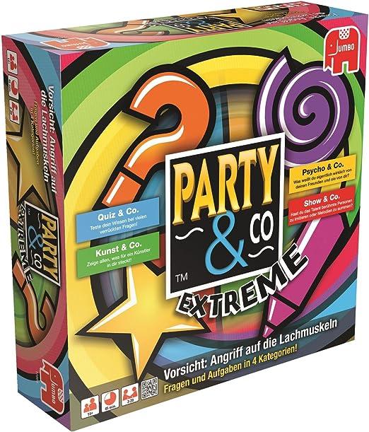 Party & Co. Extreme Adultos Juegos de Preguntas - Juego de Tablero (Juegos de Preguntas, Adultos, 45 min, Niño/niña, 14 año(s), Alemán): Amazon.es: Juguetes y juegos