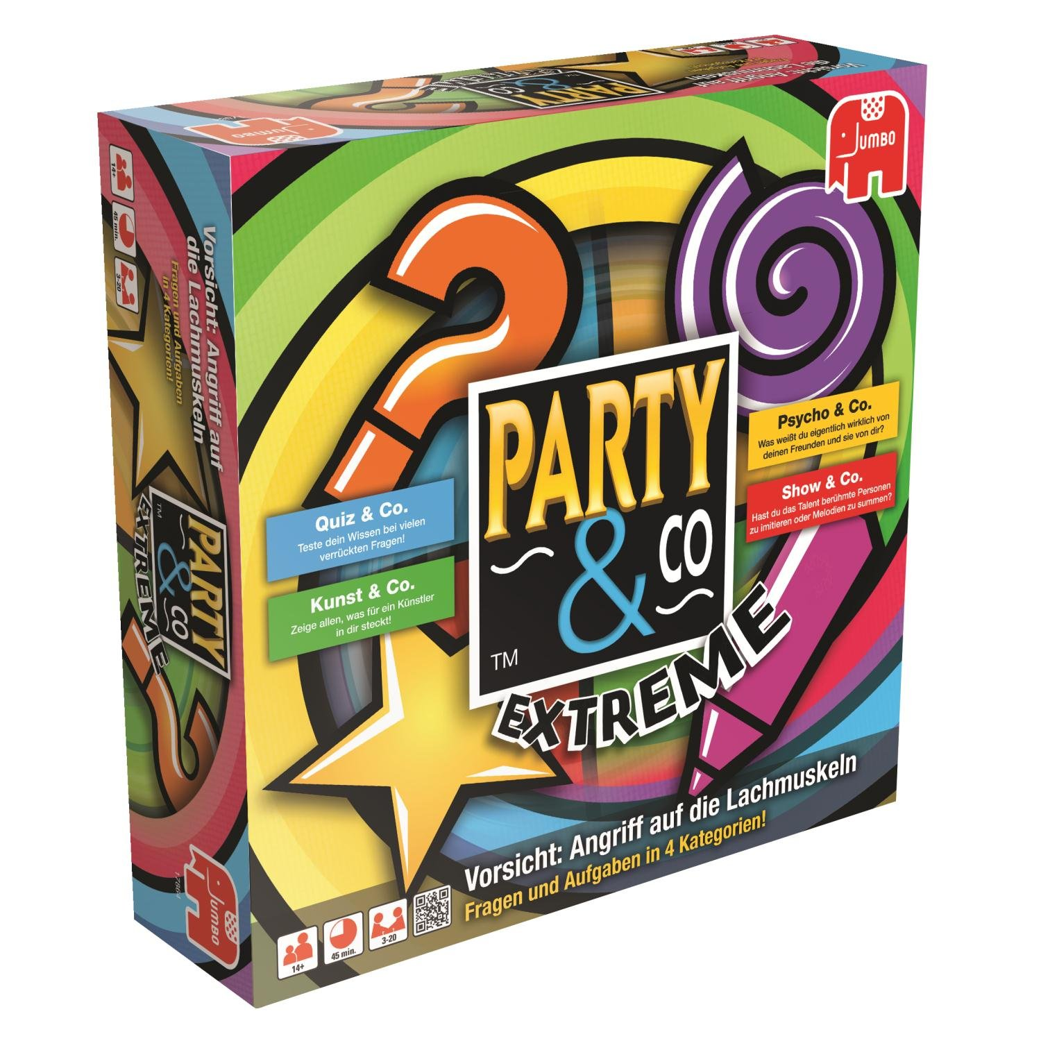 Jumbo 17864 - Party and Company Extreme, Brettspiel