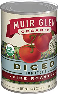 product image for Muir Glen Organic Diced Fire Roasted Tomatoes, 14.5 oz (Pack of 12)
