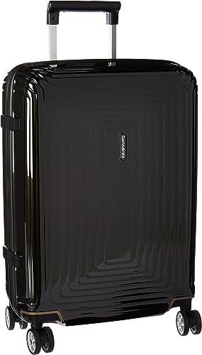 Samsonite Neopulse Hardside Luggage with Spinner Wheels, Metallic Black, Carry-On 20-Inch