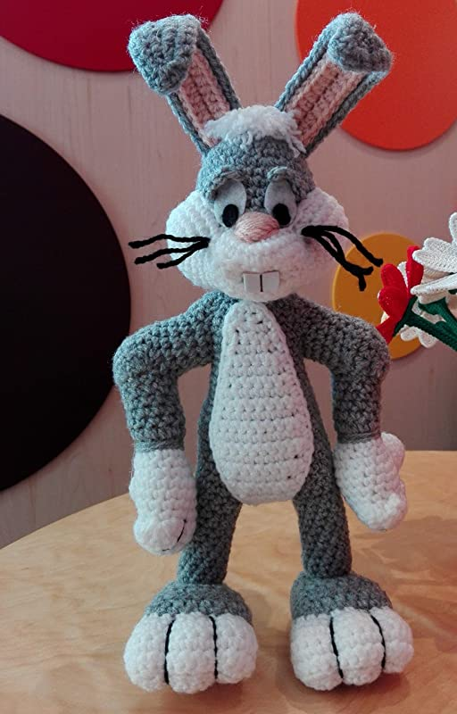 Bugs Bunny Crochet | Crochet Obsessed ✿ Looney Tunes ... | 800x512