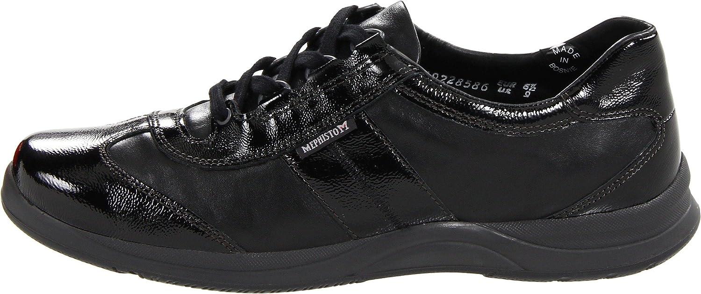 Mephisto Women's 5 Laser Walking Shoe B007M0PDGC 5 Women's B(M) US|Black Crinkle Patent/Smooth e18983