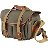 Billingham 225 FibreNyte Canvas Bag for Camera - Sage/Tan