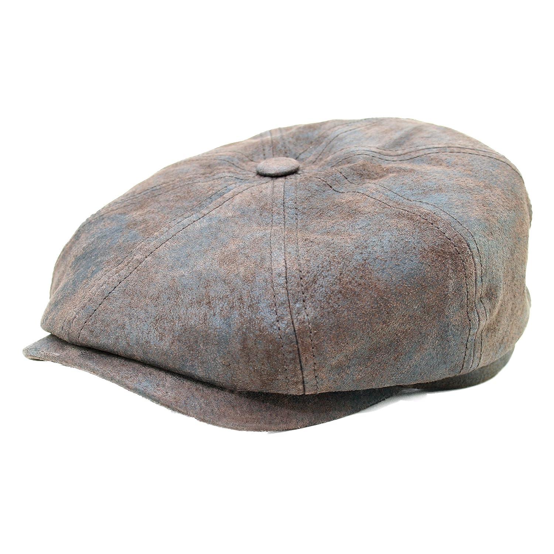 Stetson Hatteras Schweinehautmütze Braun