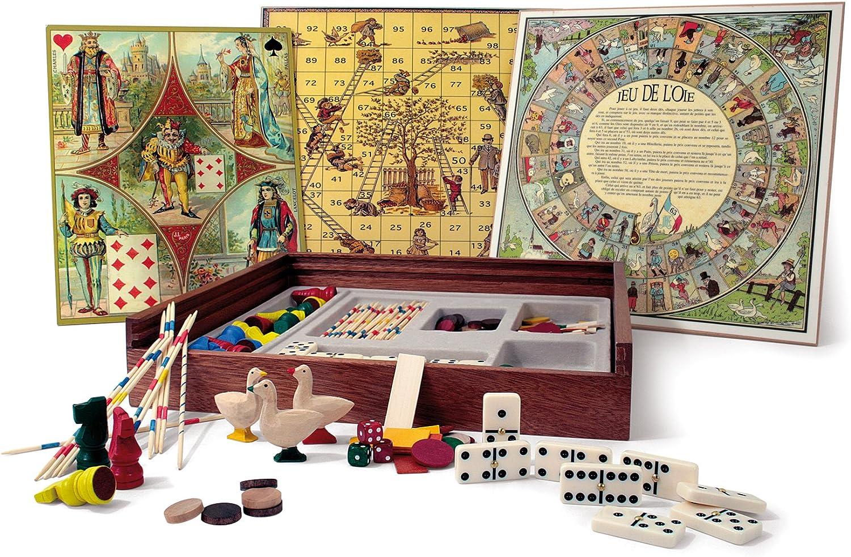 Jeujura Gamme Smir 21319 Jeu De Societe Mon Coffret De Jeux De Tradition Amazon Fr Jeux Et Jouets