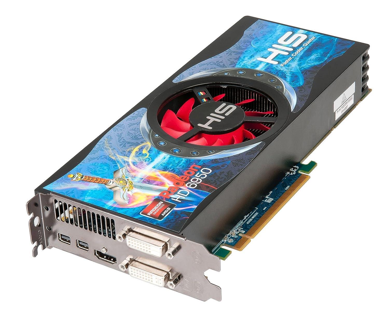HIS Radeon HD6950 - Tarjeta gráfica (PCI-E, Memoria de 1 GB ...