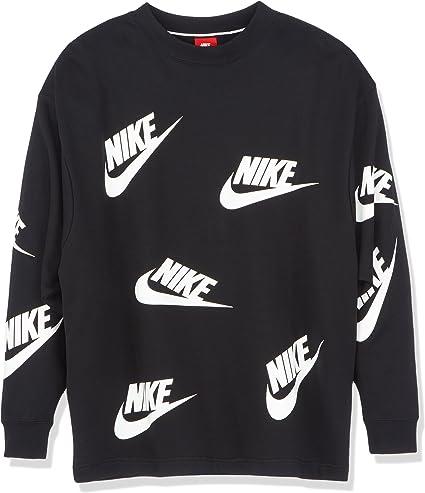 Nike AA3142 Sweatshirt Femme Multicolore (Noir
