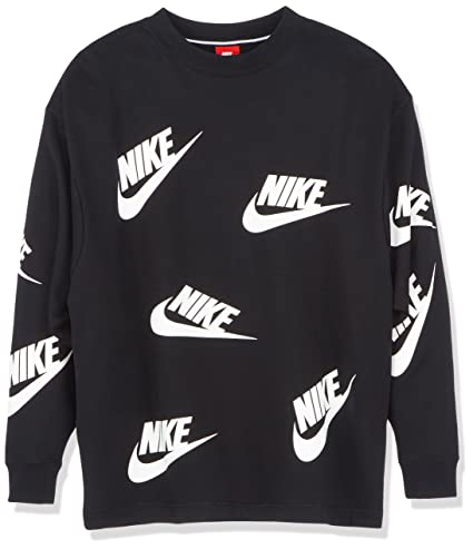 super cute reasonable price detailed pictures Nike - AA3142-010 - Sweat-Shirt - Femme -Noir (Blanc) - XS ...