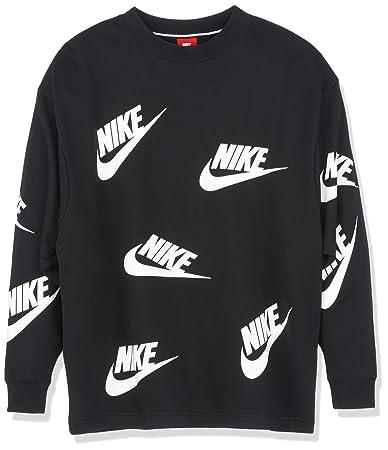 pas cher pour réduction c9a77 997f1 Nike - AA3142-010 - Sweat-Shirt - Femme -Noir (Blanc) - XS ...