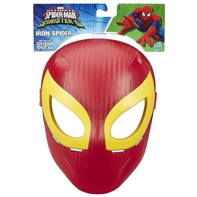 Spider-Man Marvel Ultimate máscara de Hierro araña: Amazon.es: Juguetes y juegos