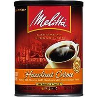 Melitta Coffee, Hazelnut Creme Ground, Medium Roast, Flavored, 11-Ounce