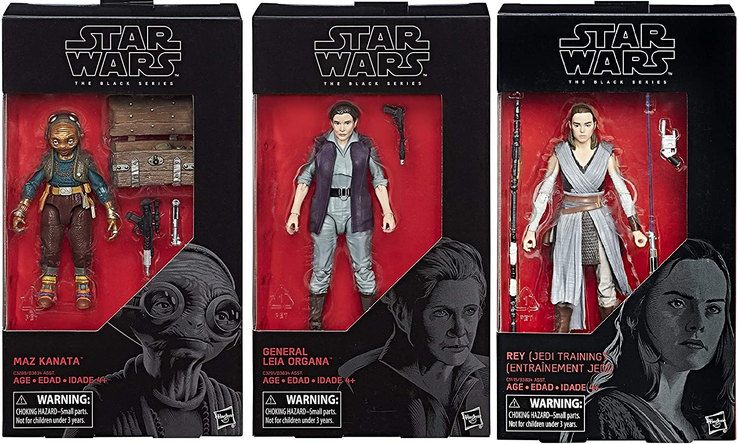 """Star Wars The Black Series General Leia Organa 6/"""" Inch Action Figure **NEW**"""