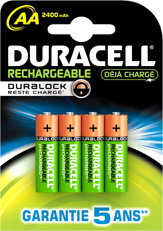 Duracell Pre Charged Wiederaufladbare Aa Batterien Elektronik