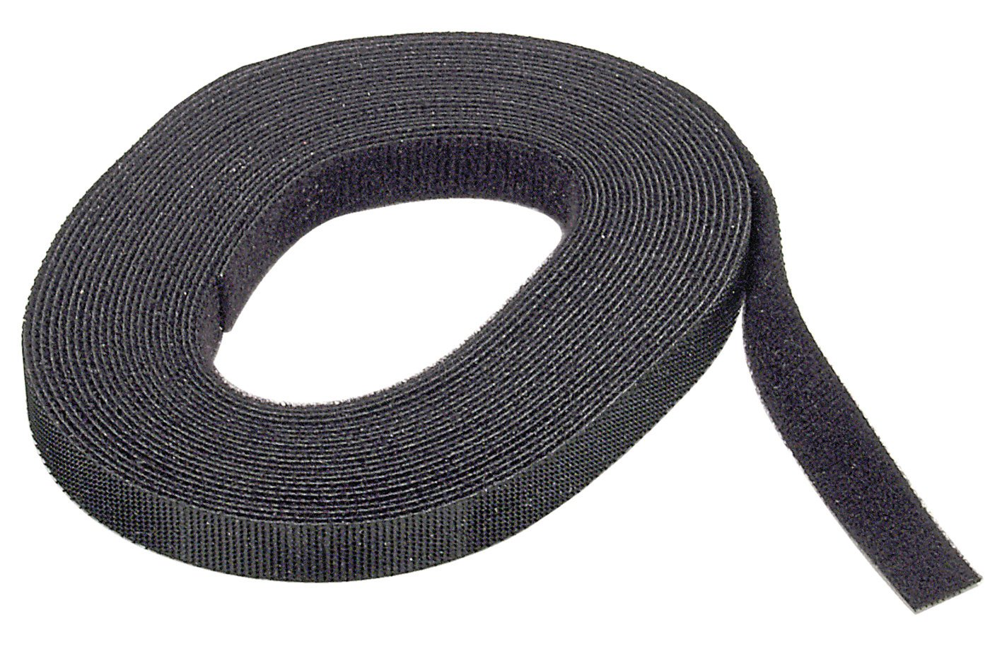 Wolfcraft 3286000 3286000-1 Tiras adherentes de Velcro Negras para la casa