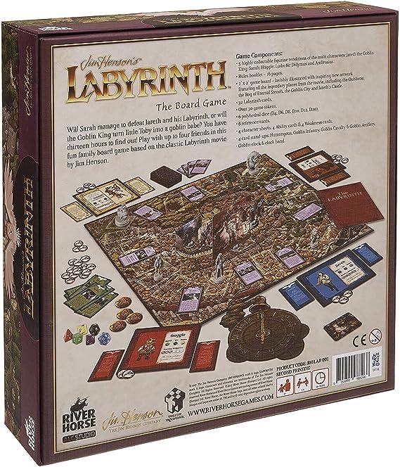 ALC Studios RHLAB001 Labyrinth The Movie - Juego de Mesa: Amazon.es: Juguetes y juegos