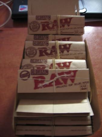 Amazon com: Newest 5 Raw 1 25 Organic Hemp Packs 32 Leaves