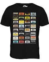 Candymix - Retro Music Cassette Tapes - Mens T Shirt Top T-Shirt