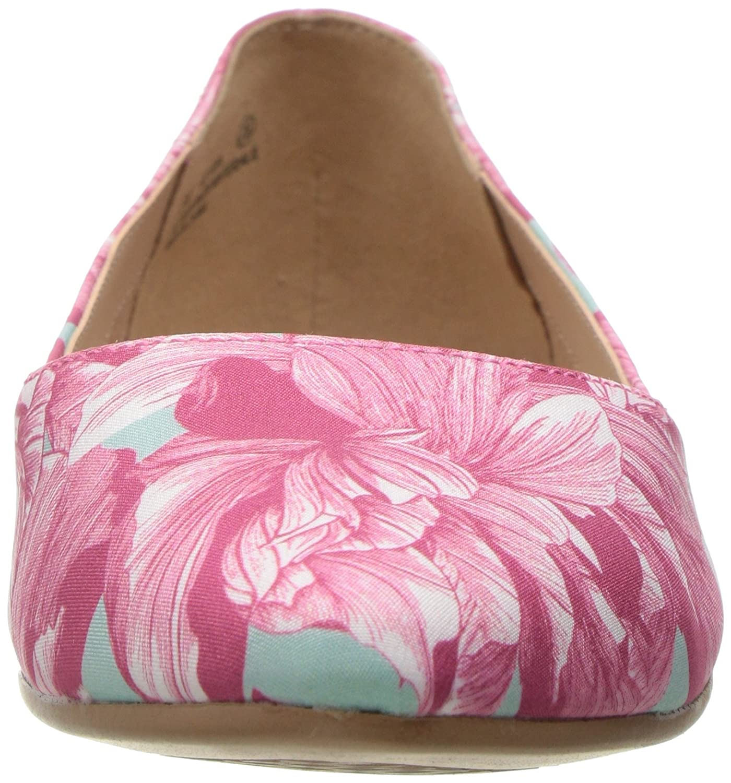 Aerosoles Women's Hey Girl Ballet Flat B01N9T1PHO 9 W US|Pink Floral