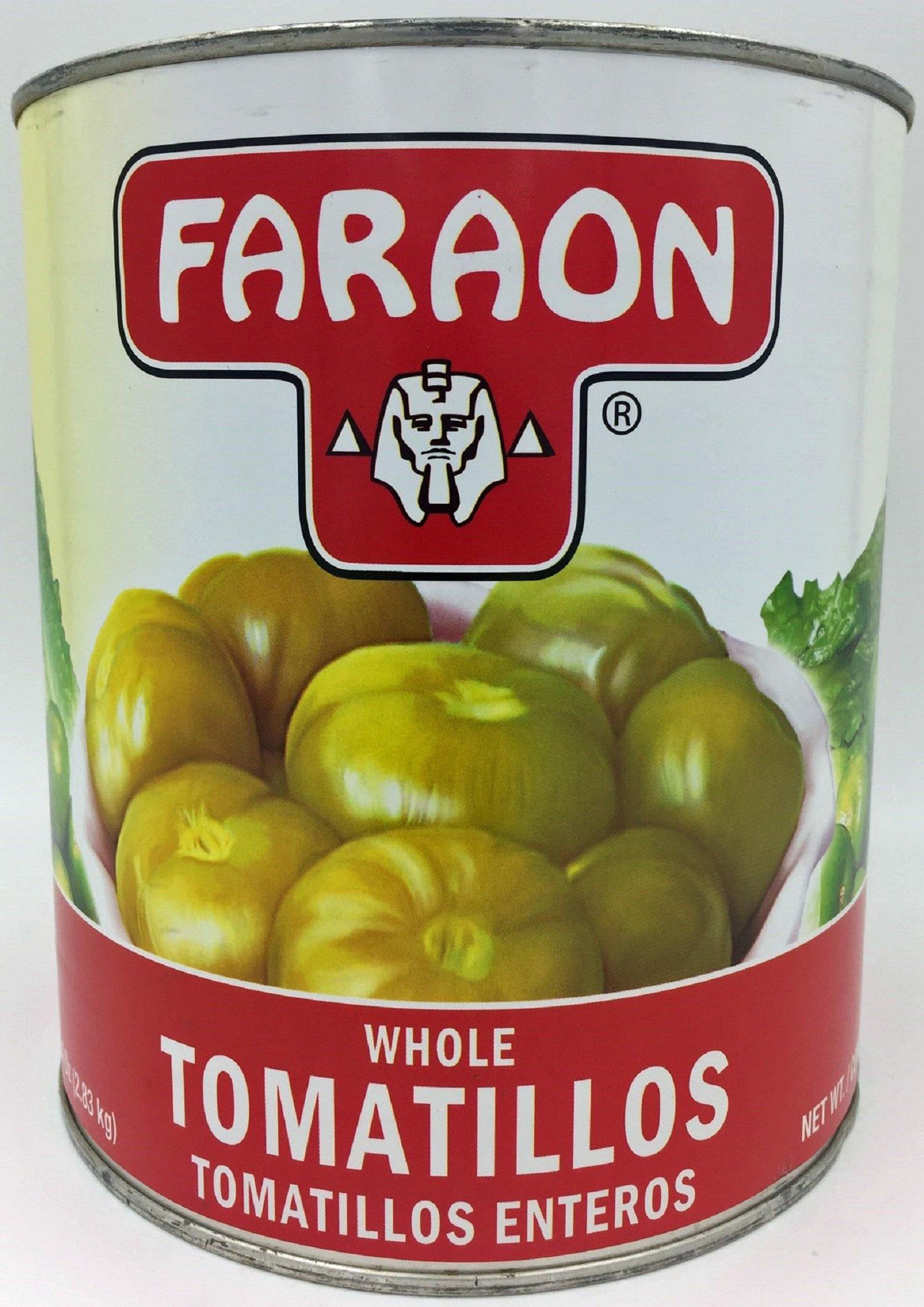FARAON Tomatillo Whole, 105 Ounce (Pack of 6)