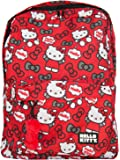 Loungefly Hello Kitty All Over Grey & Red Bow Print Backpack
