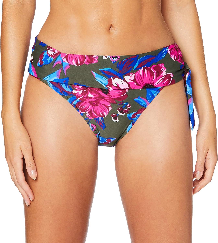 Femme Bas de Bikini Pour Moi Getaway Fold Over Tie Brief