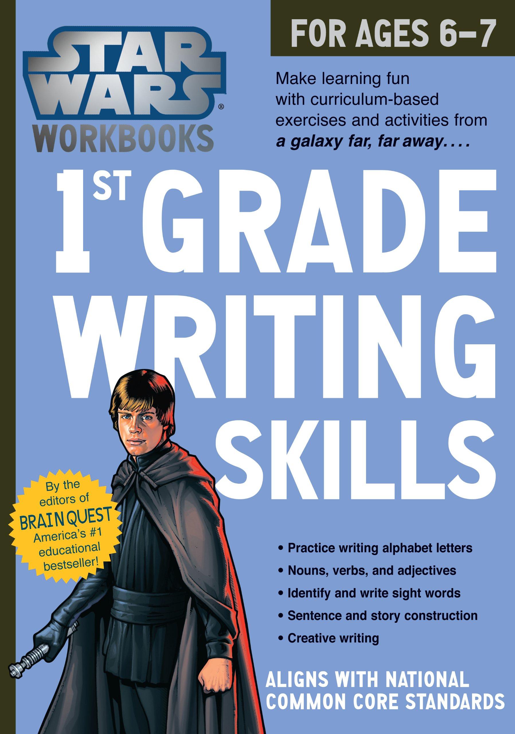 Star Wars Workbook: 1st Grade Writing Skills (Star Wars Workbooks)