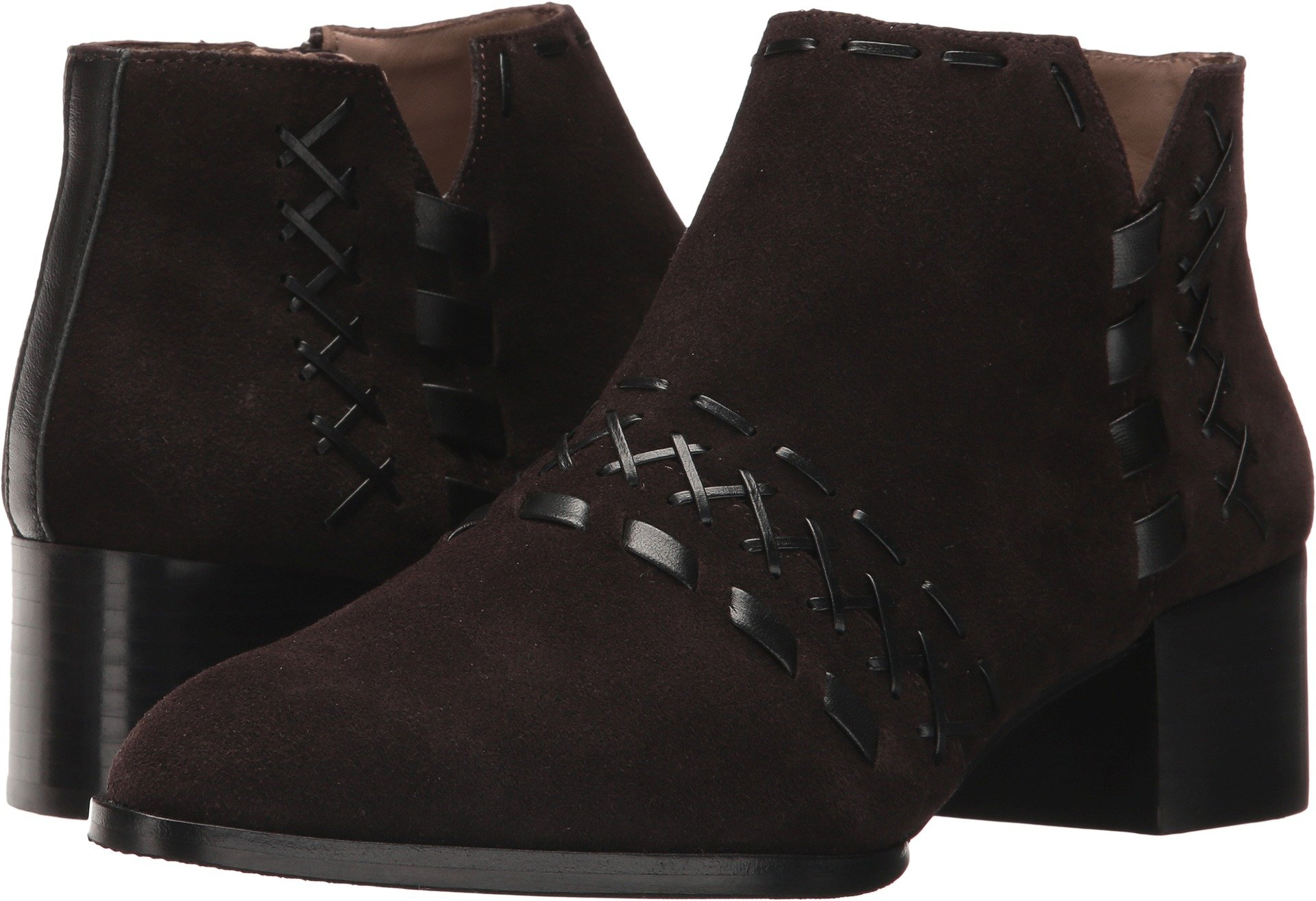 Donald J Pliner Women's Bowery Ankle Boot, Cocoa, 6.5 M US