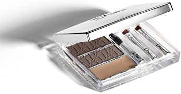 6a36b05a Christian Dior All-in-Brow 3D Long-Wear Brow Contour Kit, 001 Brun/Brown,  0.26 Ounce