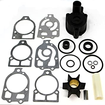 SEI MARINE PRODUCTS- Compatible with Mercury Mariner Water Pump Kit With  Housing 46-96148A 8 135 150 175 200 HP 2-stroke