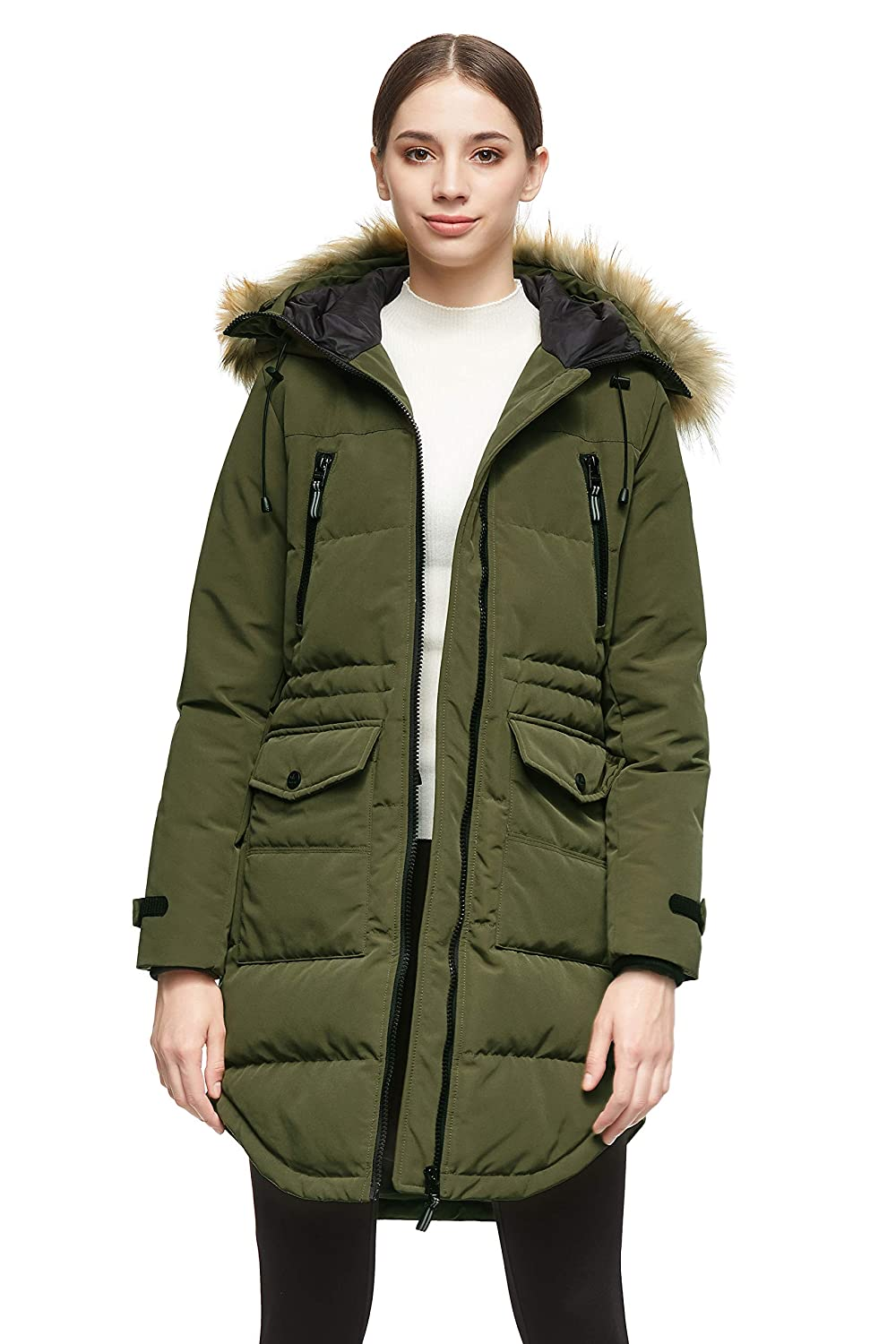 Orolay Women/'s Thickened Down Jacket Winter Warm Down Coat