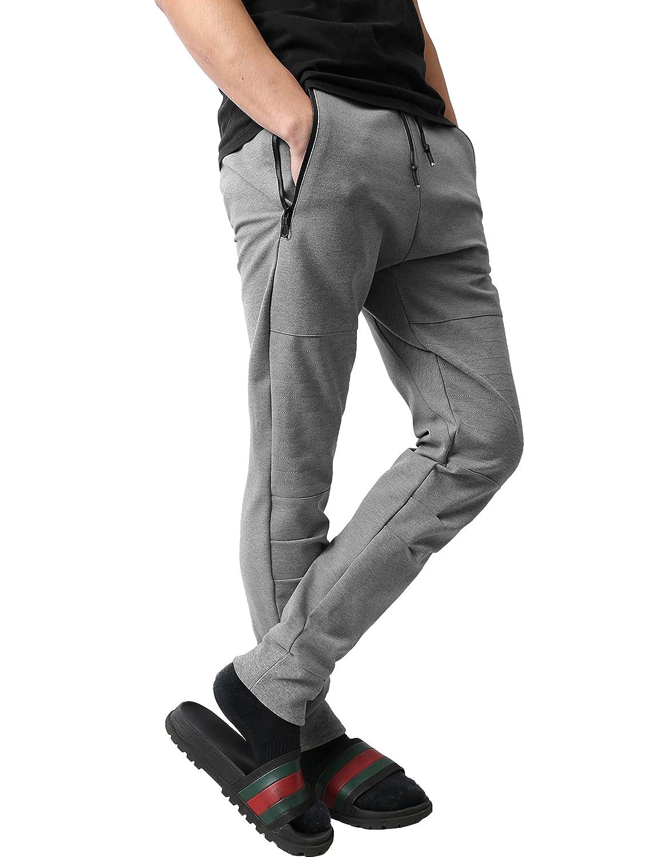 Hat and Beyond WV Mens Zip Up Hoodie Casual Fleece Jogger Pants Slim Fit Active Zipper Sweatshirt Tracksuit