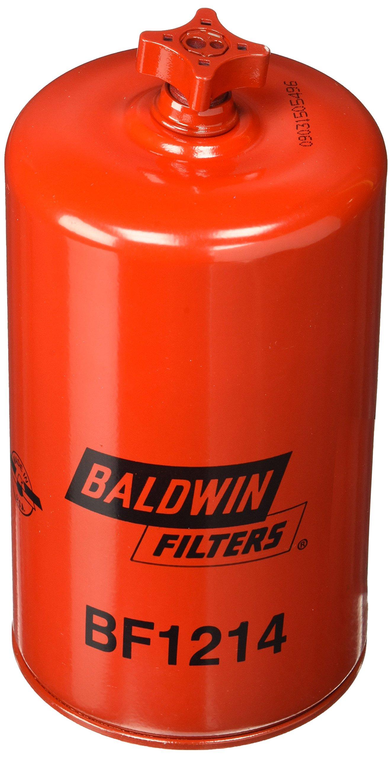 Baldwin BF1214 Heavy Duty Diesel Fuel Spin-On Filter by Baldwin