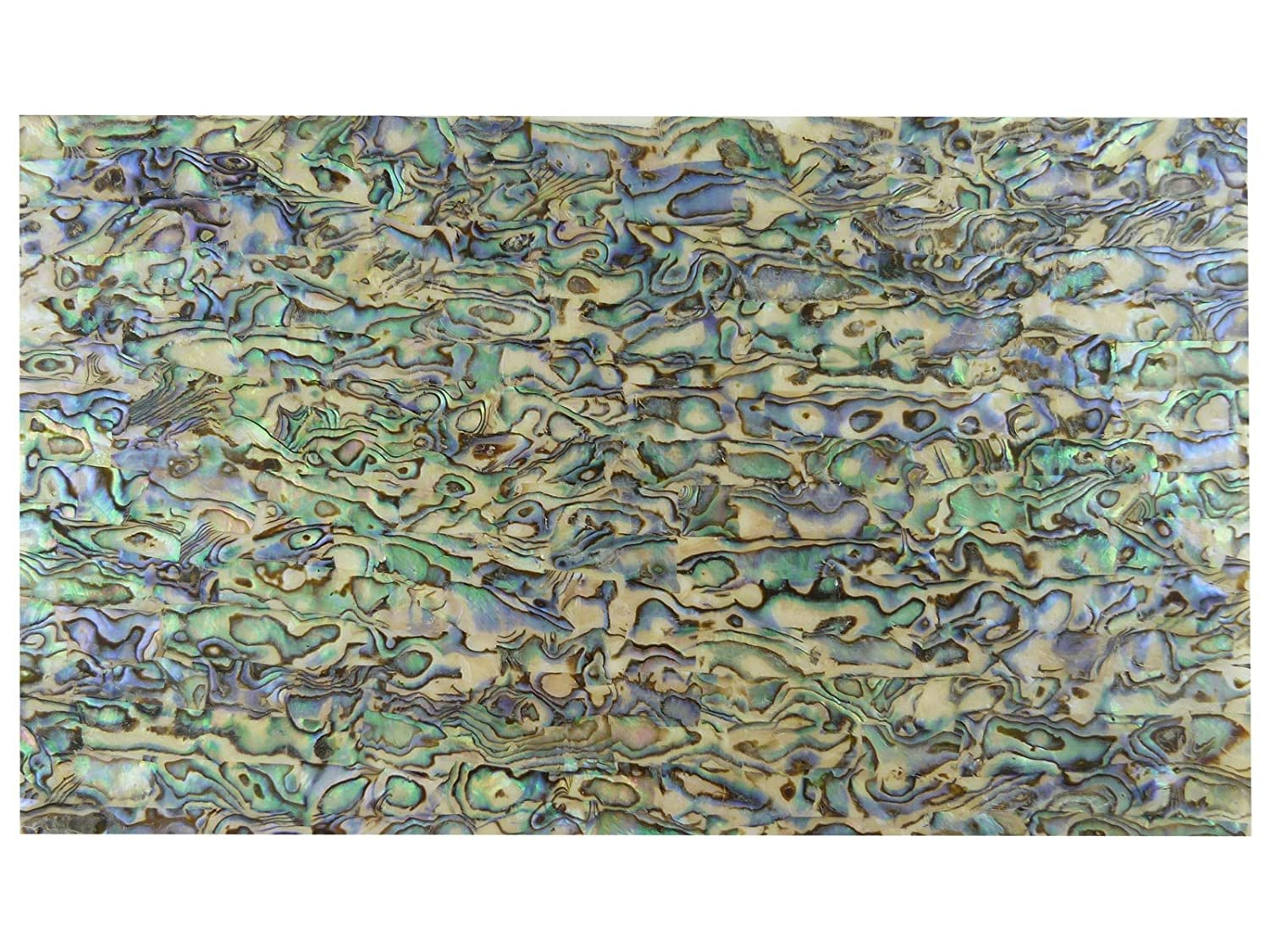 Green Abalone Laminate Shell Veneer (240x140x0.15mm) Rothko and Frost IN843