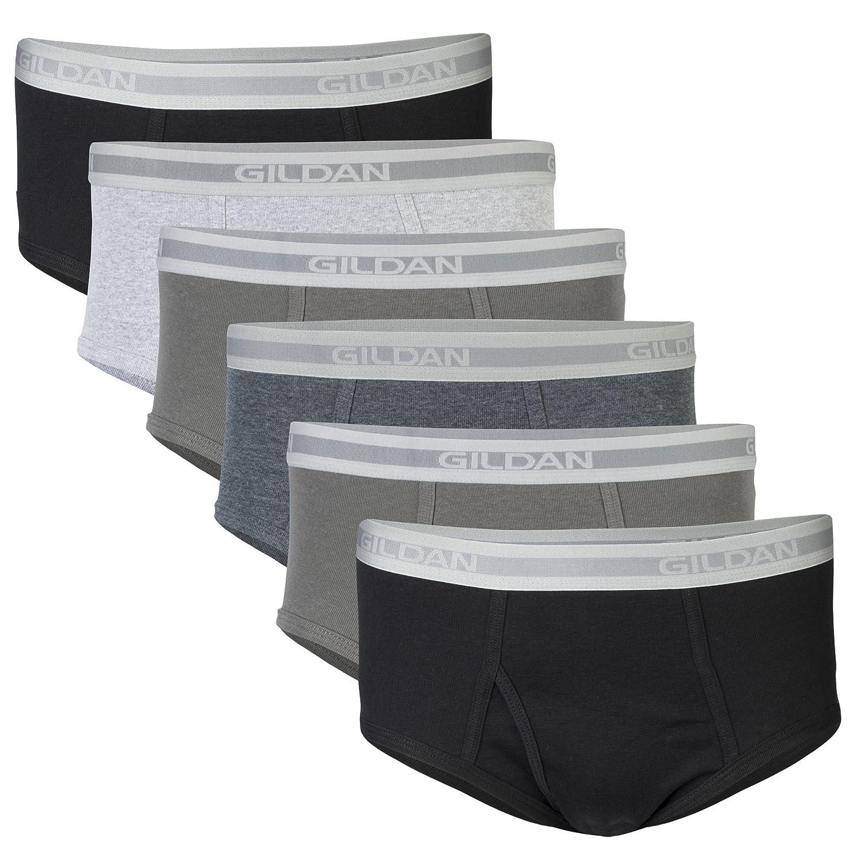 GILDAN Mens Brief Underwear Multipack Briefs