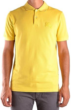 Burberry - Polo - para Hombre Amarillo XL: Amazon.es: Ropa y ...