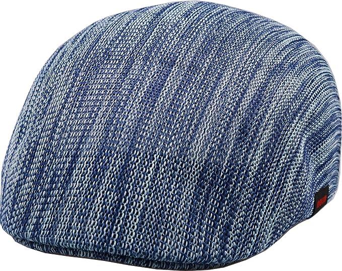 sujii LNE Malla de respiración de aire Newsboy Beret boina Cabbie Hat  sombrero de cabbie Hunting 6c3bd8ff0d2