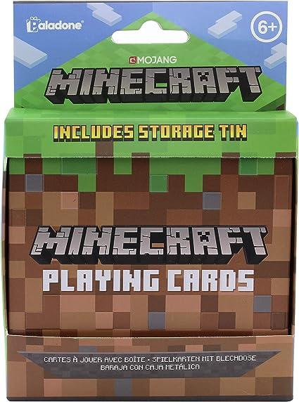 Paladone-PP6587MCF Juego de cartas Minecraft, Multicolor (PP6587MCF) , color/modelo surtido: Amazon.es: Juguetes y juegos
