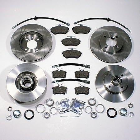 Bremsscheiben Bremsen Bremsbeläge Vorne Hinten Mit Integrierten Abs Sensor Ringen Bremsbeläge Radlager Bremsschläuche Auto