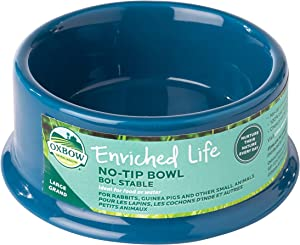 Oxbow Enriched Life No Tip Bowl, Large