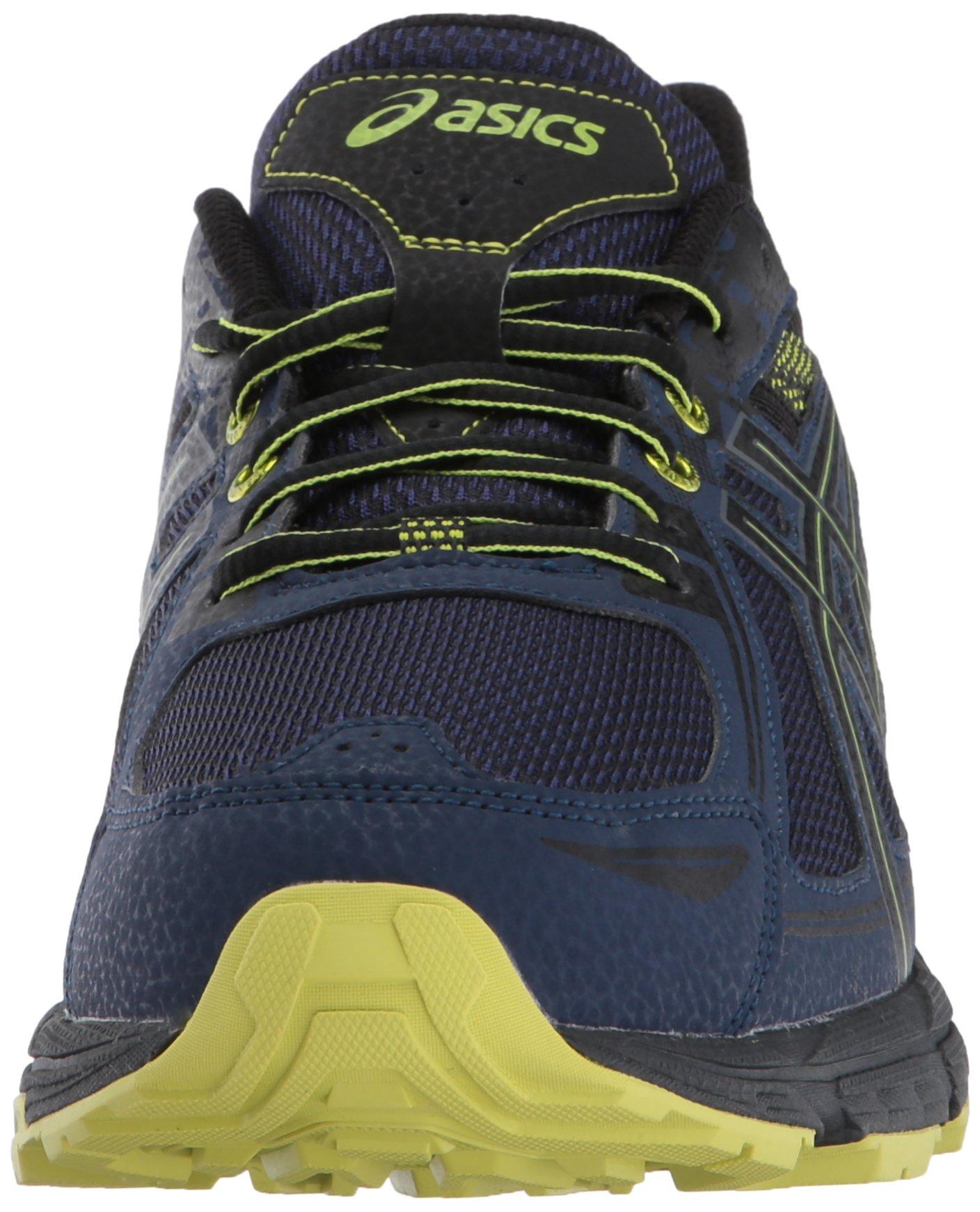 ASICS Mens Gel-Venture 6 Running Shoe, Indigo Blue/Black/Energy Green, 7 Medium US by ASICS (Image #4)