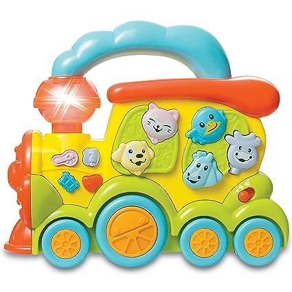 Y LucesColores De Infantil Con Musical Tren Buy Electrico Juguete Jc1lTKF
