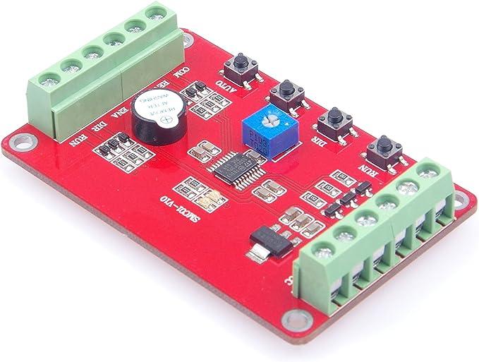 DC 5-32V Stepper Motor Driver Board Controller PWM Pulse Output 0.3K-30K Adjust