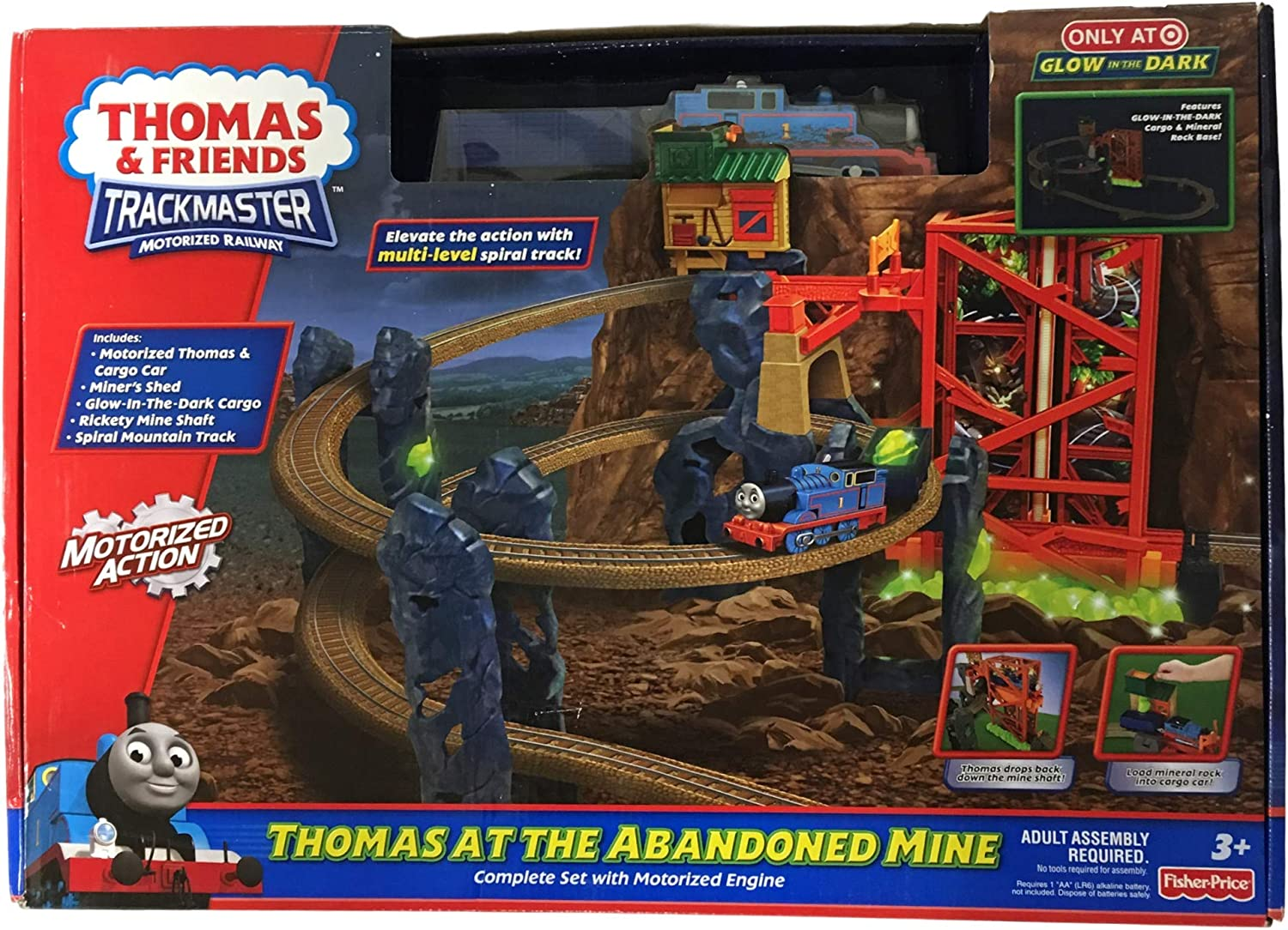Fisher-Price THOMAS AT THE ABANDONED MINE Train Set Trackmaster Exclusive 98936 New