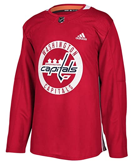 a57f9ab7c9b adidas Washington Capitals NHL Men's Climalite Authentic Practice Jersey ...