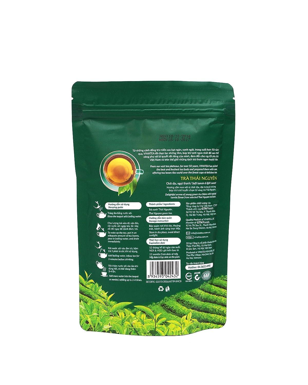 Vietnamita Vinatea Thai Nguyen Natural té verde – Uno de los ...