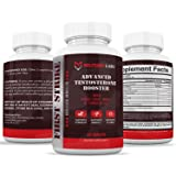 Military Labs First Strike Testosterone Booster (60ct) for Men | Gain More Energy and Vitality, Male Enhancement Pills that Build lean Muscle Fast, Boost Libido and Increase Strength