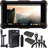 "Atomos Ninja Inferno 7"" 4K HDMI Recording Monitor, Battery, Charger, Caltar 7"" Articulating Magic Arm, HDMI A-D Basic 3' Cable and A-C Basic 3' Cable"
