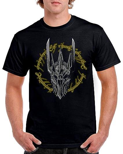 Camisetas La Colmena 4592-Camiseta Premium, The Dark Lord Of Middle Earth (Ddjvigo)
