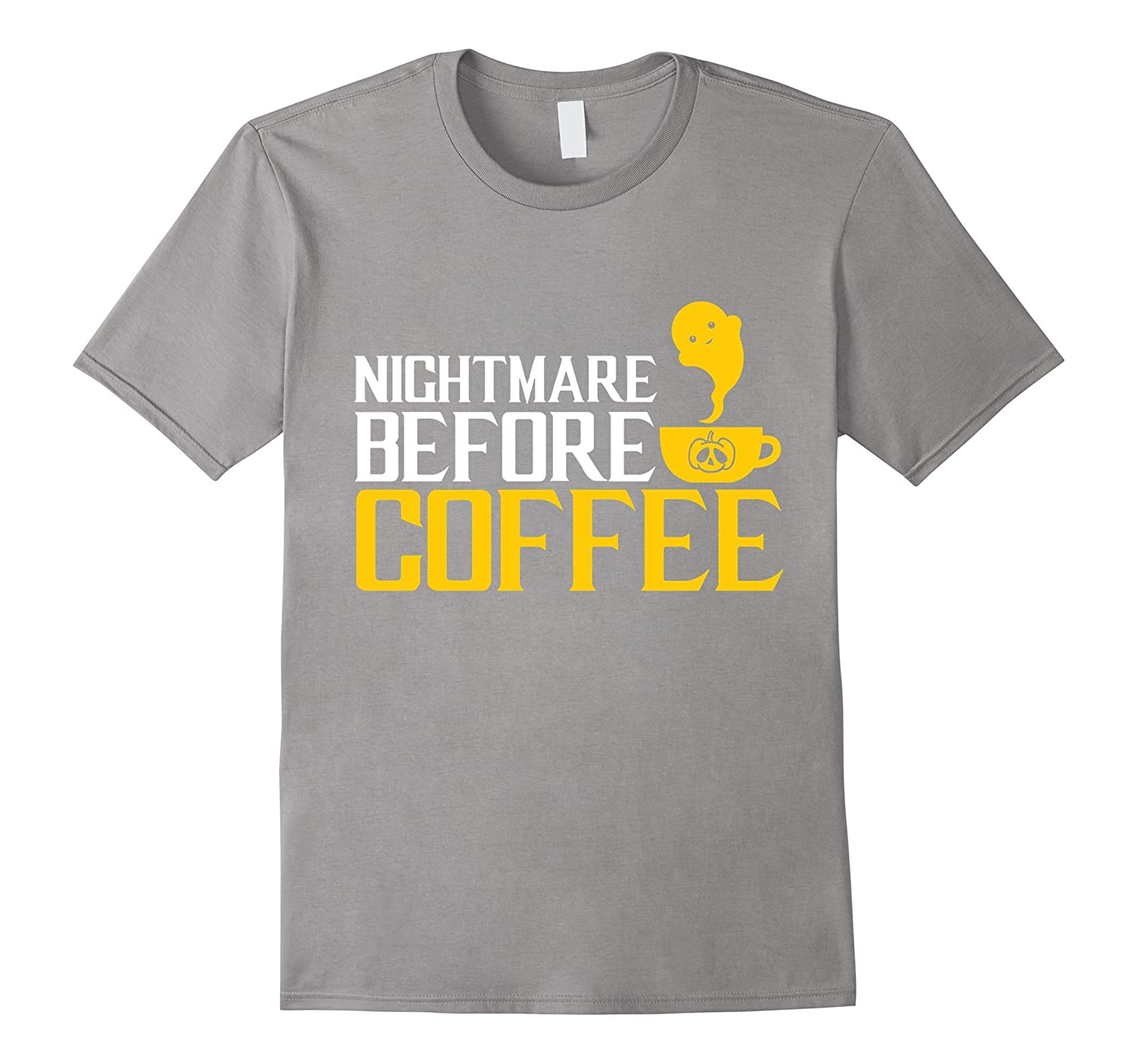 sc 1 st  Rateeshirt & Nightmare Before COFFEE Ghost Halloween Costume Gift T-shirt-RT ...